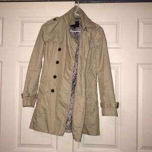 Banana Republic Tan Trench Coat